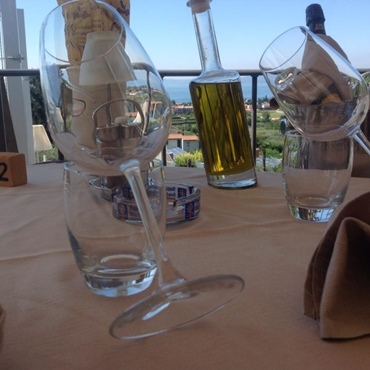 Restaurant with views of Montefelice Bardolino